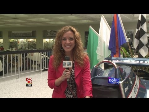 Lisa Visits The Indianapolis Motor Speedway Hall of Fame Museum