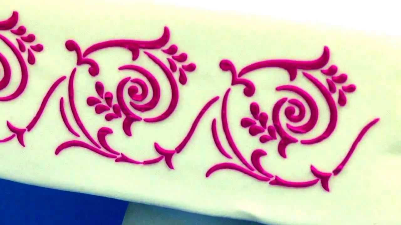 Cake Decorating Templates Free