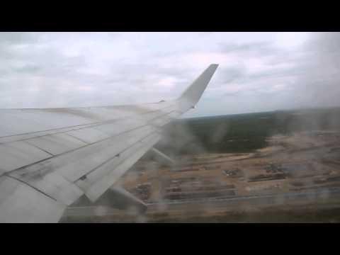 S7 AirLines Boeing 737-800 �зле� из �ового У�енго� NUX Рей� 420 о� 27.06.2013 �ов�й У�енгой NUX - �о�ква MOW DME.
