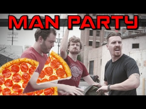 Pizza Crime Stoppers - MAN Party