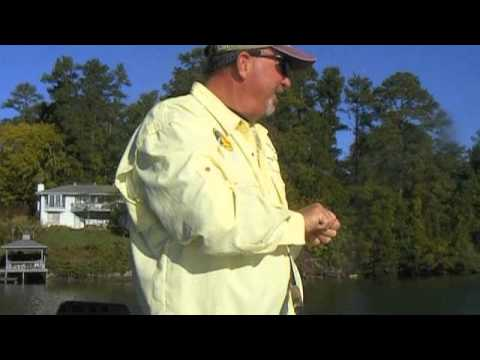 Fall Crappie Fishing with Woody and Nancy on Lake Jackson