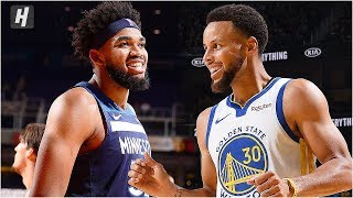Minnesota Timberwolves vs Golden State Warriors - Full Game Highlights | October 10, 2019 Preseason