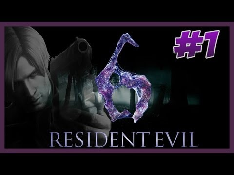 Resident Evil 6 - Playthrough- Part 1 - PT-BR