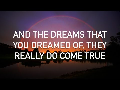 Israel Kamakawiwoole - Somewhere Over the Rainbow (with lyrics...