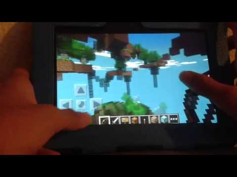 Minecraft Pocket Edition Hunger Games Project#2 Map 2 Review