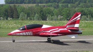 Red Viper RC Turbine Model Jet @29.Oldtimermeeting 2018