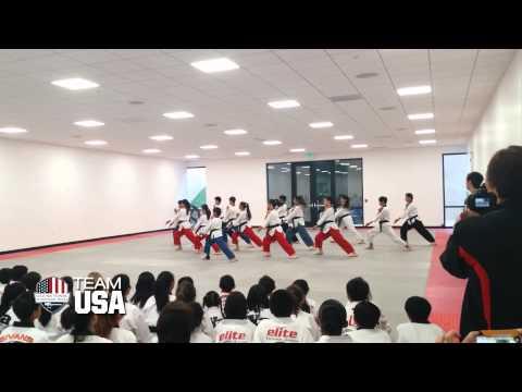 2014 USA National Taekwondo Poomsae Team: Koryo