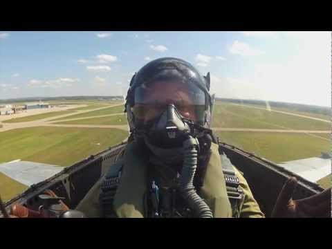 "Rick travels to CFB Cold Lake in Alberta to take part in ""Race the Base"", a fundraiser for Soldier On where exotic cars race against CF-18 fighters."