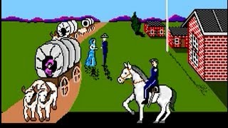 The Oregon Trail (1990) PC Playthrough  - NintendoComplete