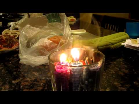 Telekinetic candle lighting