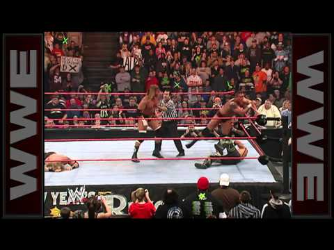 Rated-RKO vs. D-Generation X - World Tag Team Championship Match: New Year