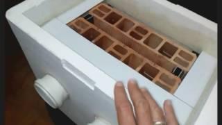 Ar condicionado caseiro com cerâmica ( Vídeo explicativo)