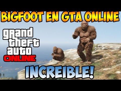 GTA V ONLINE | EL BIGFOOT EN EL ONLINE | NUNCA VISTO | PARTIDA EPICA | GTA ONLINE