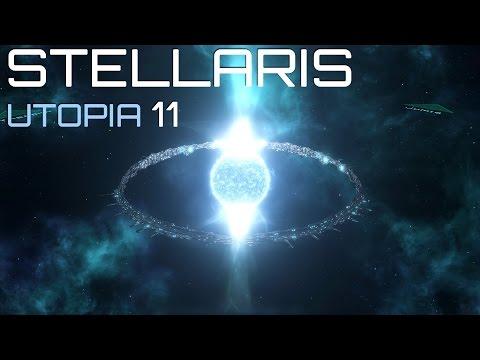 Прохождение STELLARIS UTOPIA: #11 - ПОРА УГОМОНИТЬ ПЫЛ!