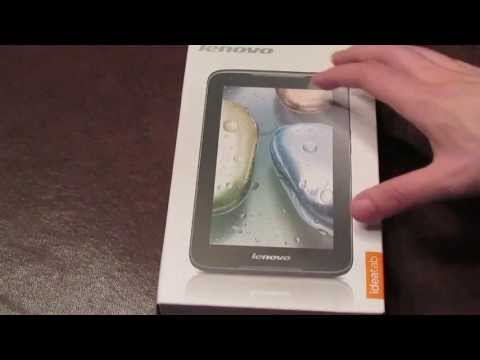 Lenovo IdeaTab A1000 Unboxing