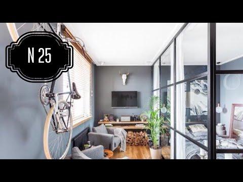 РумТУР в СТИЛЬНОЙ Брутальной студии 38м2. Дизайн квартиры. Room Tour № 25.