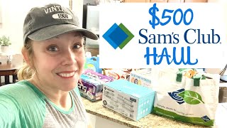 HUGE $500 SAM'S CLUB HAUL // HEALTHY FOOD OPTIONS // HEALTHY FINDS AT SAM'S CLUB