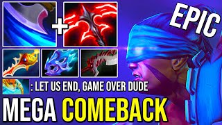 UNBELIEVABLE Mega Creep Comeback Desolator 2 Anti Mage | Never Give Up Will Pay Off 7.26 Dota 2