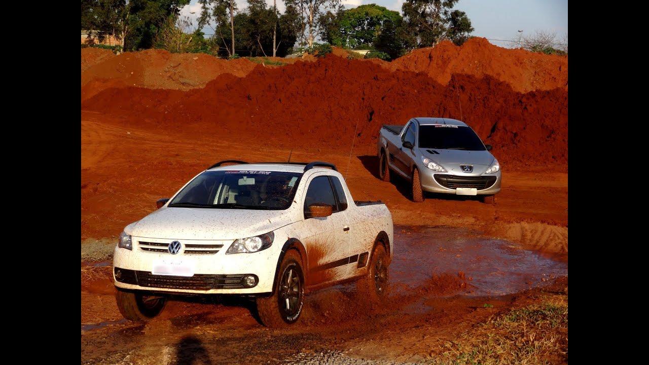 Saveiro com BF Goodrich All Terrain 215/75 e Peugeot Hoggar R15 ( BF ...