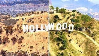 GTA V compared to Google Earth