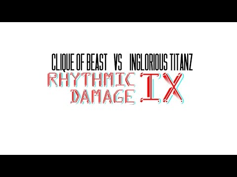 Clique of The Beast Vs Inglorious Titanz | Rhythmic Damage IX | The Hannibal Channel