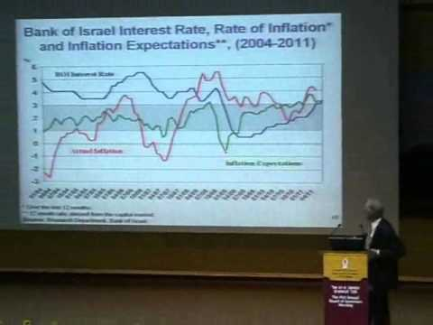 Prof. Stanley Fischer lectures at Ben-Gurion University of the Negev