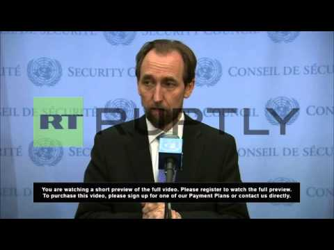 USA: Prince Zeid 'disgusted' by killings in Central Africa Republic