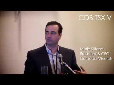 Cordoba Minerals (TSXV:CDB) 2015 Subscriber Summit Presentation