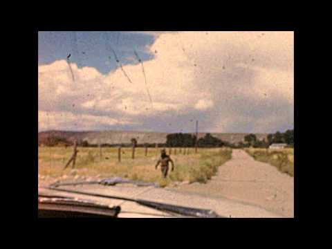 Patterson-style BIGFOOT In Wyoming, 1961 8mm Amateur Film / Home Movie!