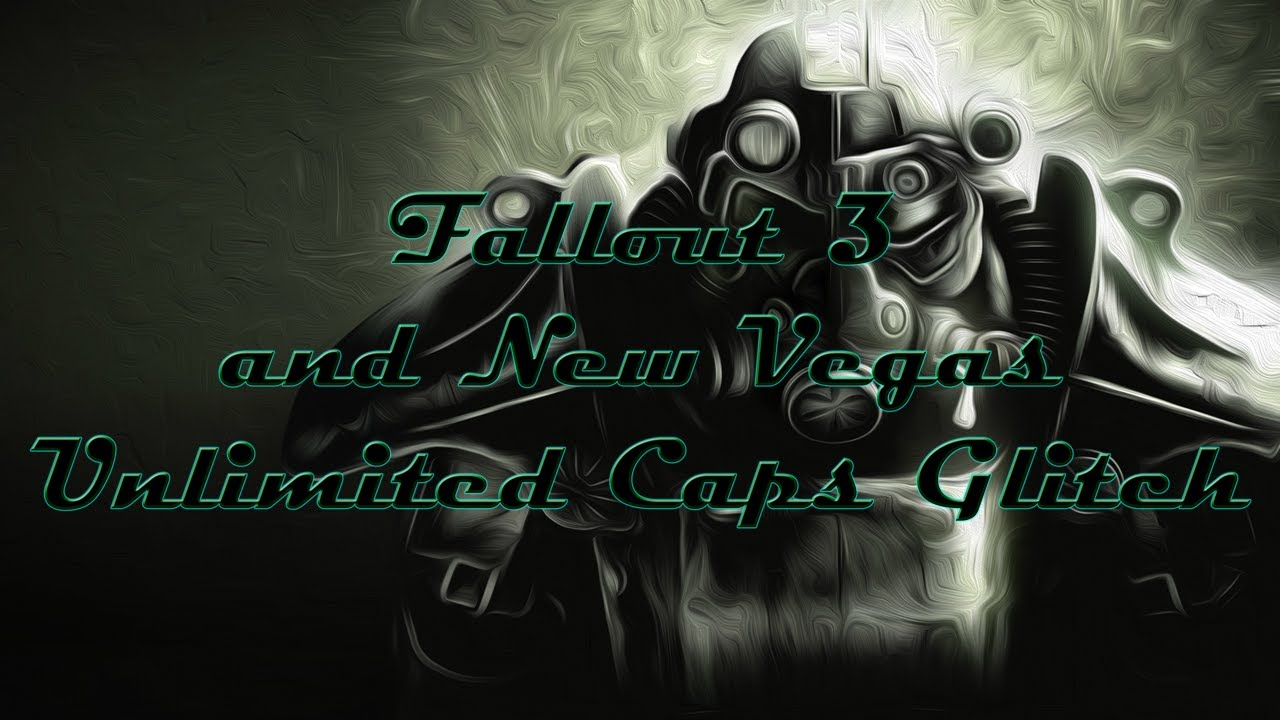 how to make fast caps in fallout 3
