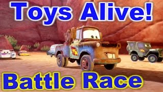 Cars 2: The video Game - Mater - Timberline Sprint Battle Race