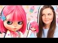ОНА СЛЕДИТ ЗА МНОЙ! Обзор на куклу Блайз Мелинда / Custom Blythe doll Melinda