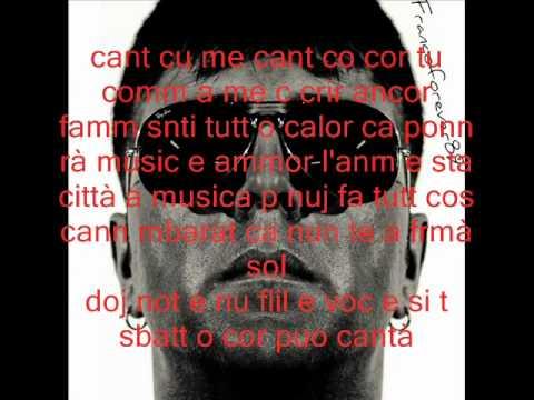 Franco Ricciardi Feat. Ciro Rigione Musica e ammore (con testo)