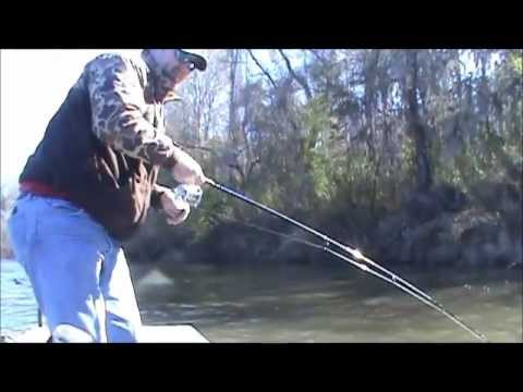 Fishing on the Savannah River 01-28-12