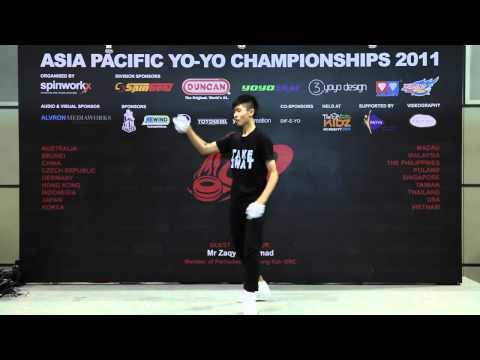 AP11: 1A Finals 1st - Christopher Chia(SG) - Asia Pacific Yo-yo Championships 2011