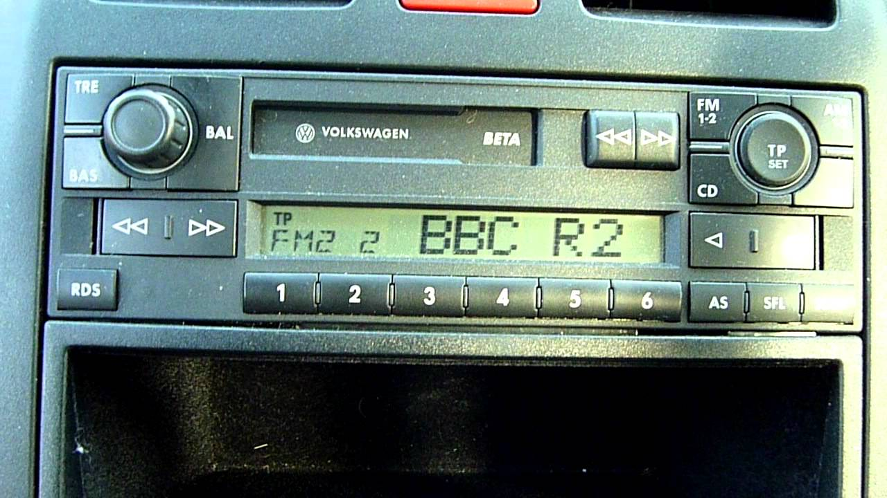2002 vw lupo 1 4 cassette tape radio player youtube