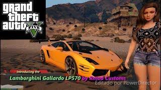 GTA V - Testing the Lamborghini Gallardo LP570 by RMod