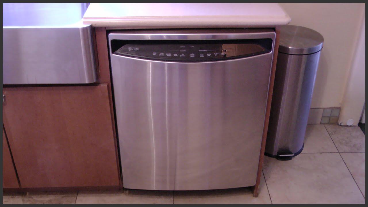 Ge Profile Dishwasher Maintenance Youtube