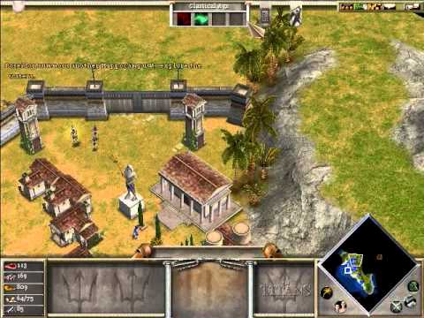 Age of Mythology Fall of the Trident Campaign Part 4