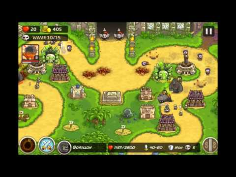 Kingdom Rush Frontiers - Veteran Temple of Saqra - Level 11 Hard