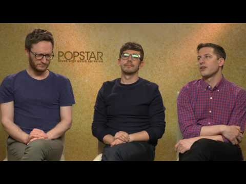 Popstar: Never Stop Never Stopping: Andy Samberg, Jorma Taccone, Akiva Schaffer Interview