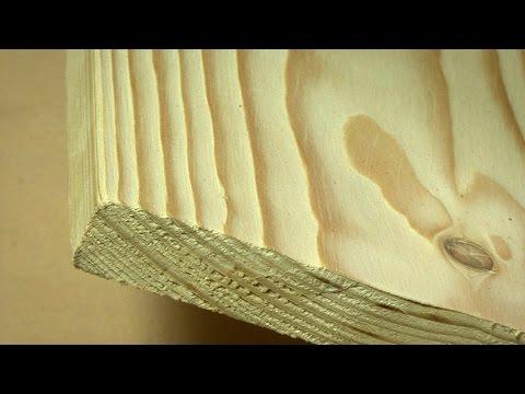 Как состарить древесину - браширование