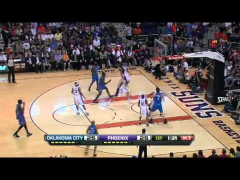 Oklahoma City Thunder vs Phoenix Suns - April 18 2012
