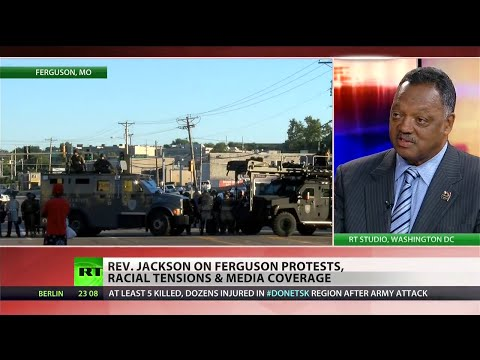 Rev. Jesse Jackson speaks with RT about Ferguson and race in America