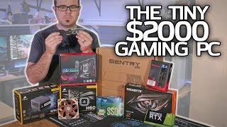 Building the TINIEST $2000 Gaming PC EVER!