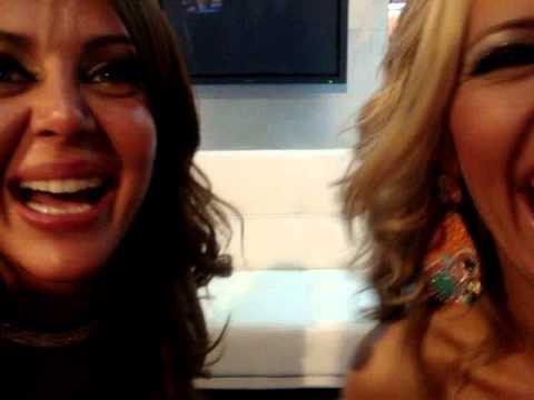AN Liliana Alvarez y Rocio Nuñez desafio lengua en el corte