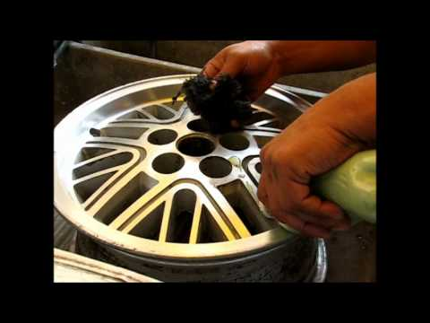 Como pulir un rin de aluminio how to polish aluminum wheel rims youtube - Pulir llantas de aluminio a espejo ...