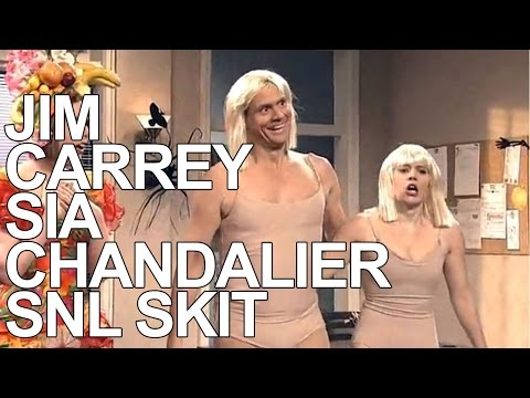 Jim Carrey SNL Sia Chandelier Dance Off with Iggy Azalea and Kate McKinnon REVIEW