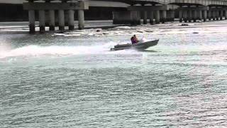 Dans Custom 270hp Jet Dinghy