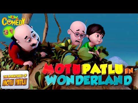 Motu Patlu In Wonderland   Movie   WowKidz Comedy thumbnail